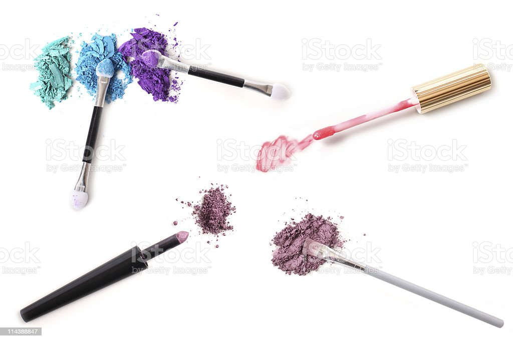 Cosmetic Applicators stock photo