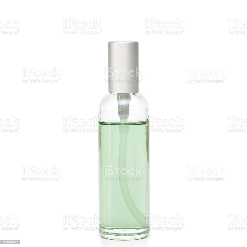 Cosmetic bottle royalty-free stock photo