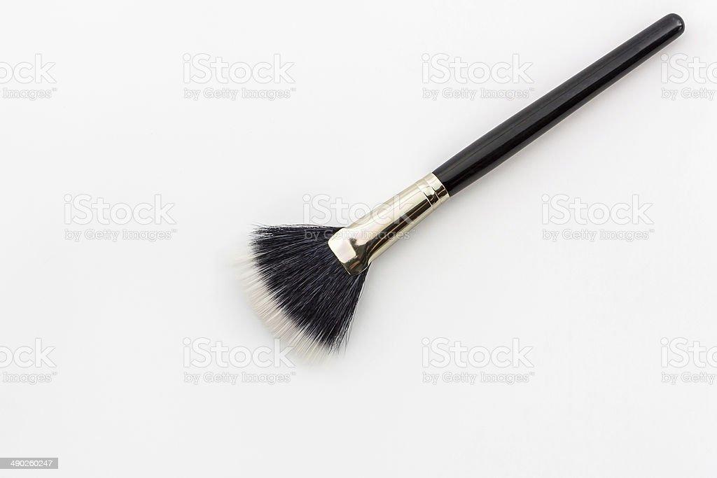Cosmetic brush. stock photo