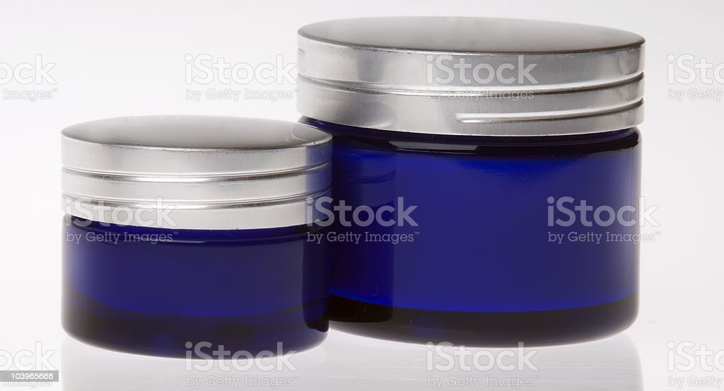 Cosmetic creams royalty-free stock photo