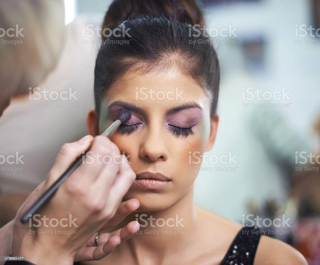 Cosmetic creations stock photo