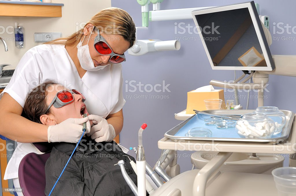 Cosmetic Dentistry royalty-free stock photo