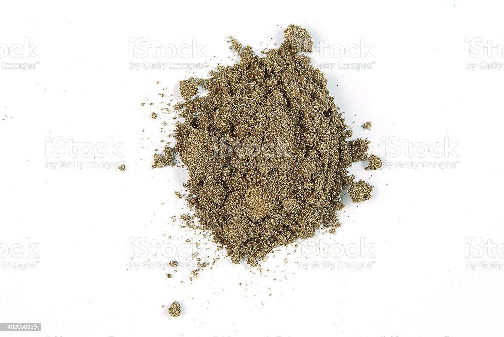 cosmetic dust stock photo