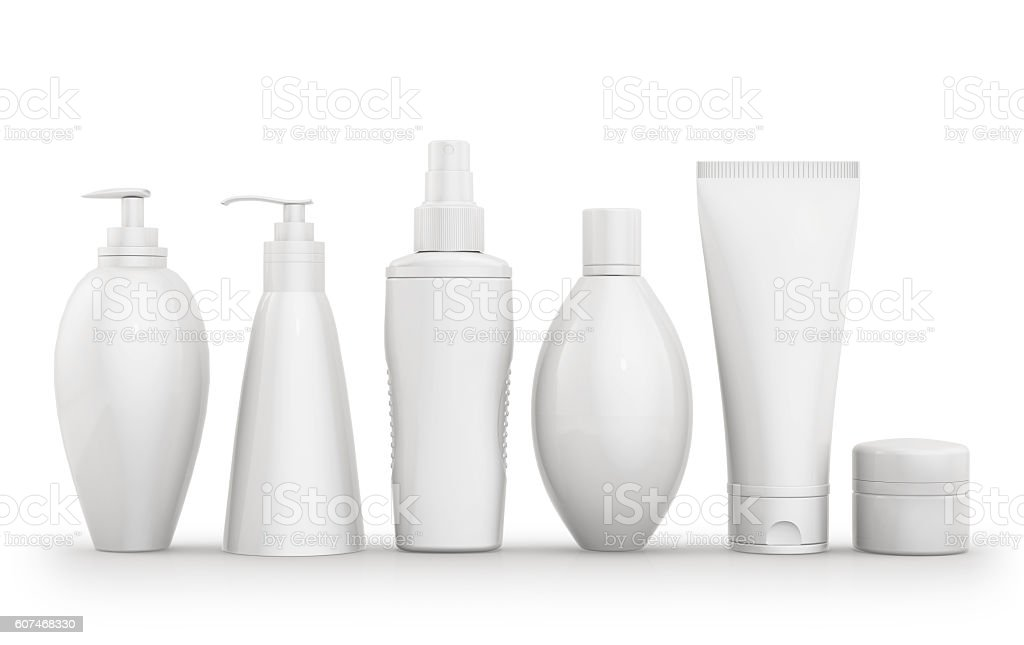 Cosmetic isolated product stock photo