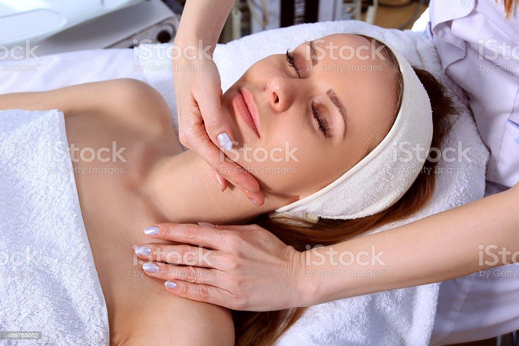 Cosmetic medicine royalty-free stock photo