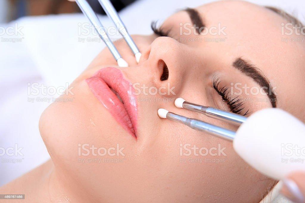 Cosmetic medicine. royalty-free stock photo