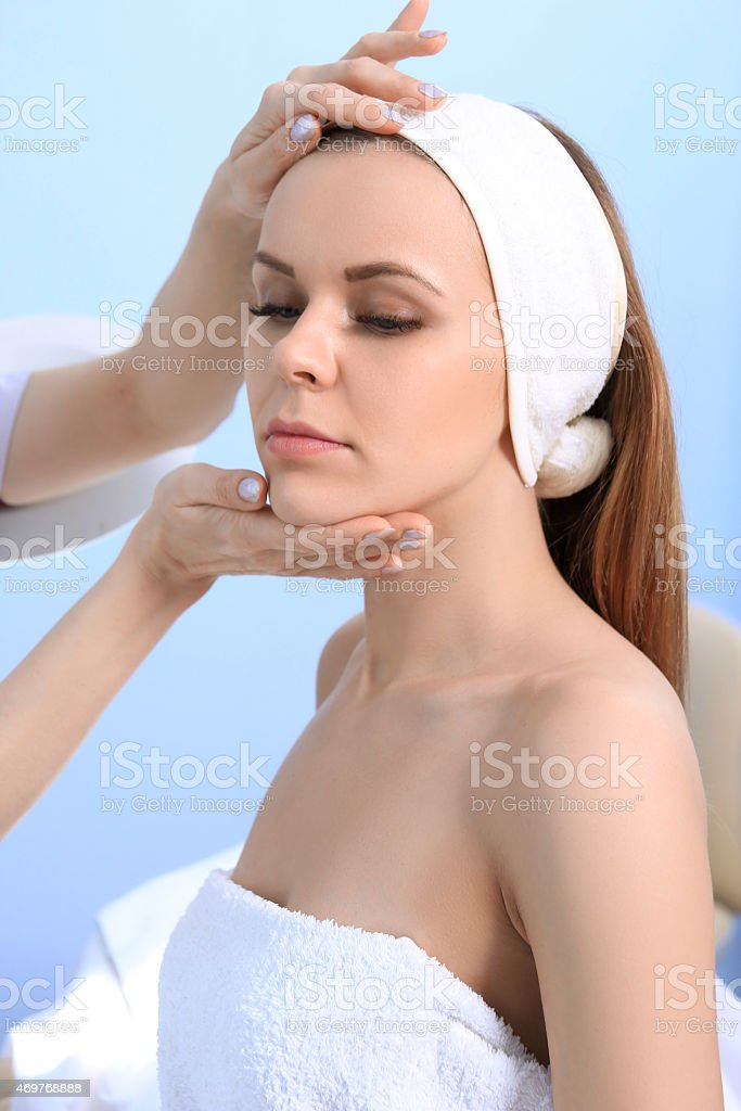 Cosmetic medicine royalty-free stock photo