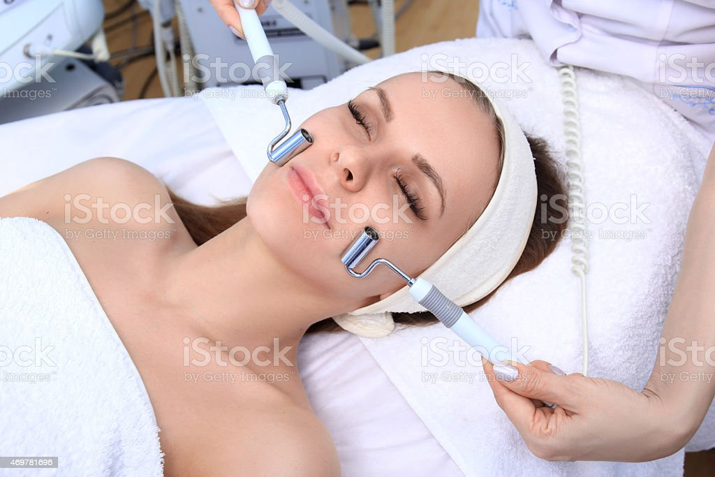 Cosmetic medicine. royalty-free stock photo