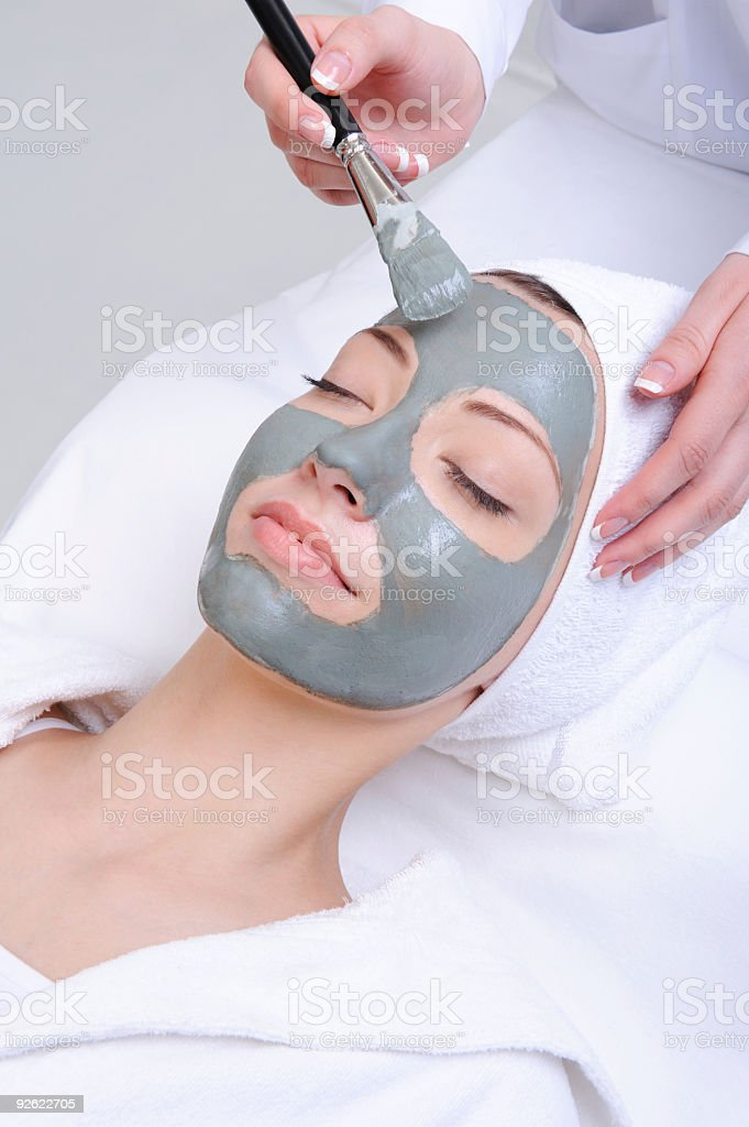 cosmetic procedure stock photo