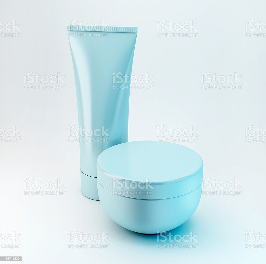 Cosmetic Products 4 stock photo