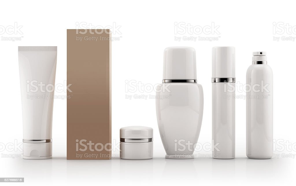 Cosmetic Products stock photo