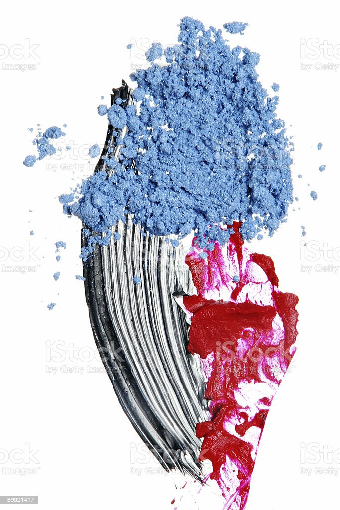 Cosmetic Samples royalty-free stock photo