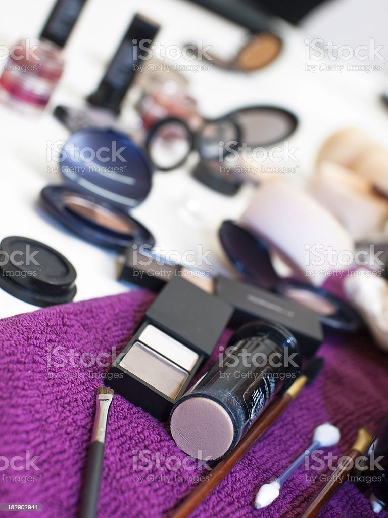 Cosmetic set royalty-free stock photo