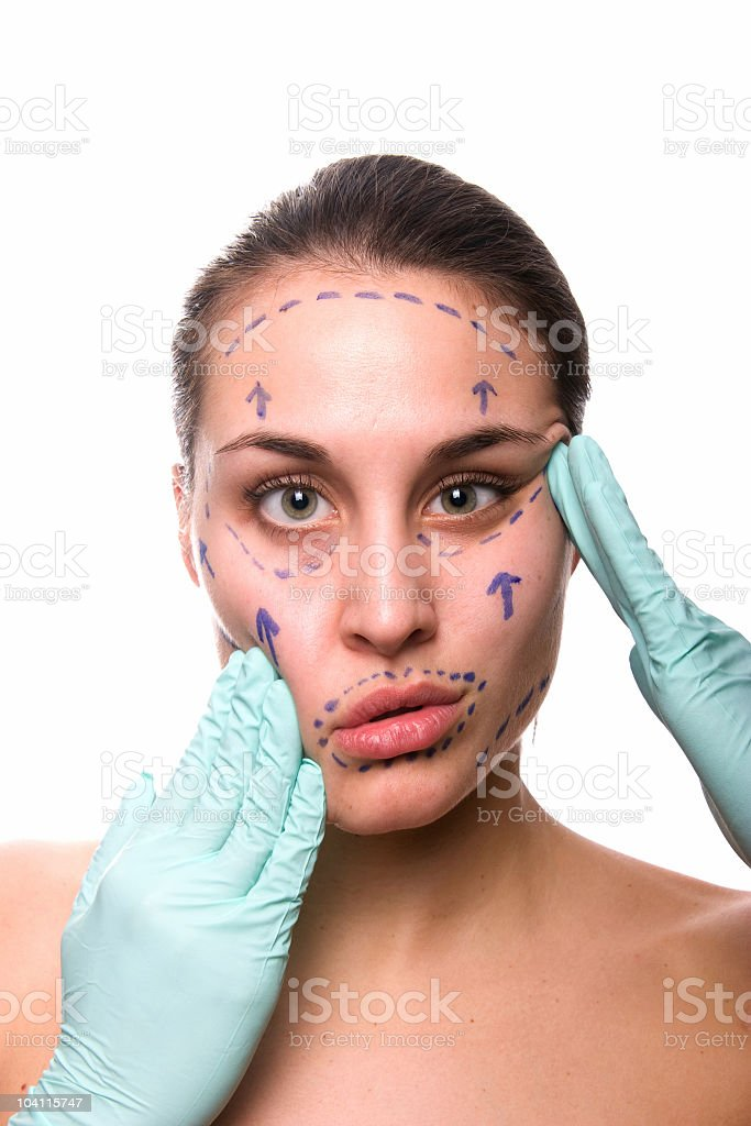Cosmetic Surgery royalty-free stock photo