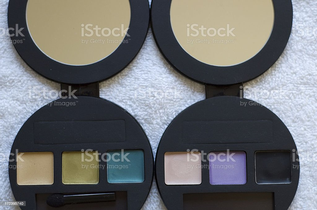 Cosmetic Swatches stock photo