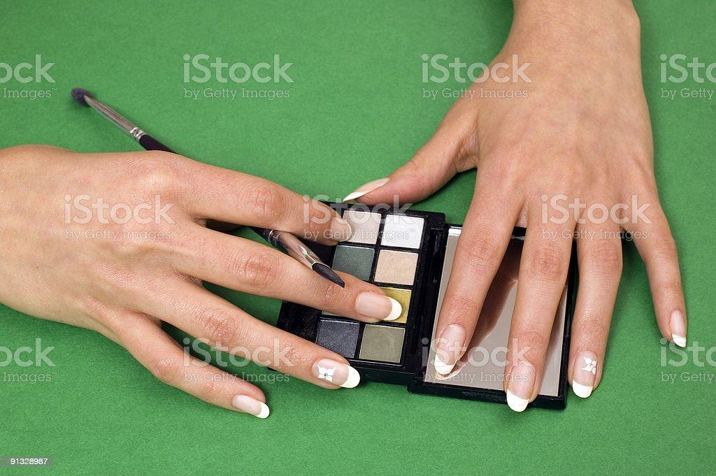 Trattamento cosmetico foto stock royalty-free