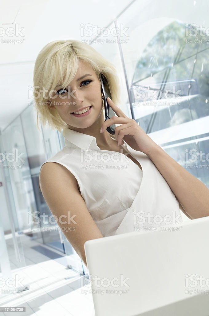 Cosmetician royalty-free stock photo