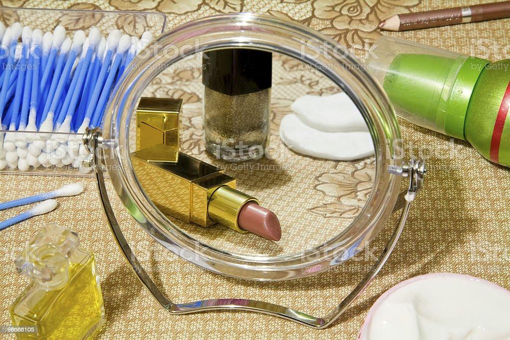 Cosmetics and perfumery stock photo