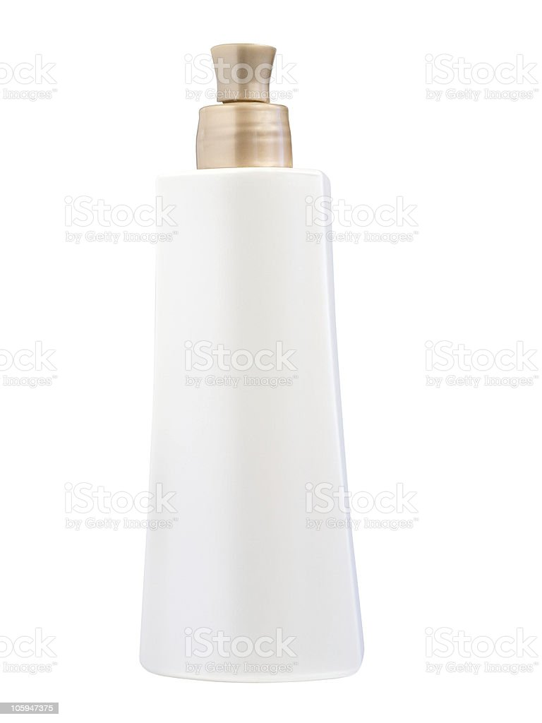 Botella de cosméticos foto de stock libre de derechos