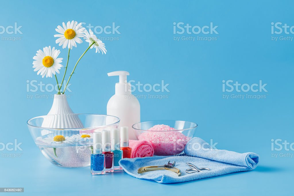 Cosmetics daily hygiene.Bathroom accessories, soap dispenser stock photo