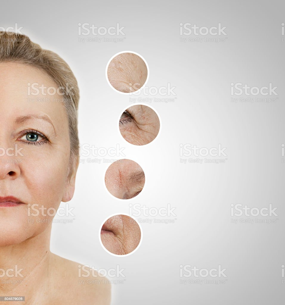 Cosmetics Face stock photo