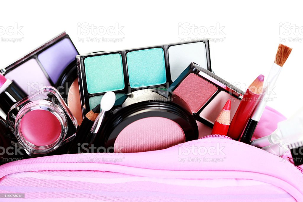 cosmetics for make-up royalty-free stock photo