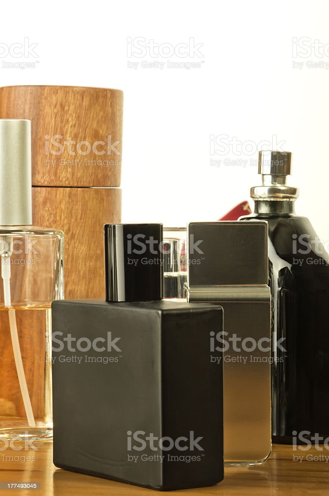 Cosmetics for mens stock photo