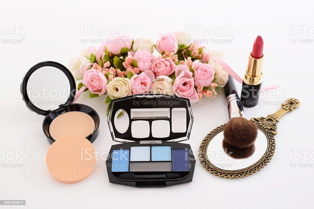 Cosmetics image stock photo
