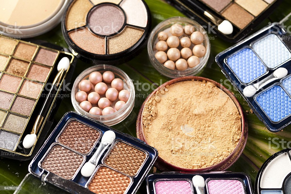 Cosmetics, make up stock photo