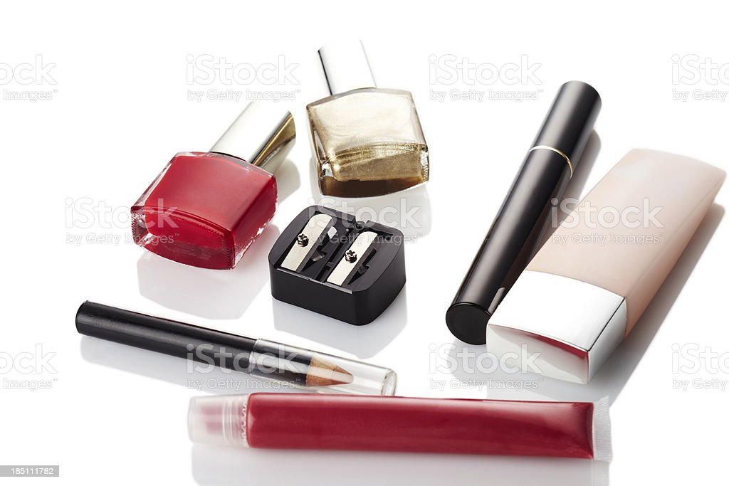 Cosmetics, make-up stock photo