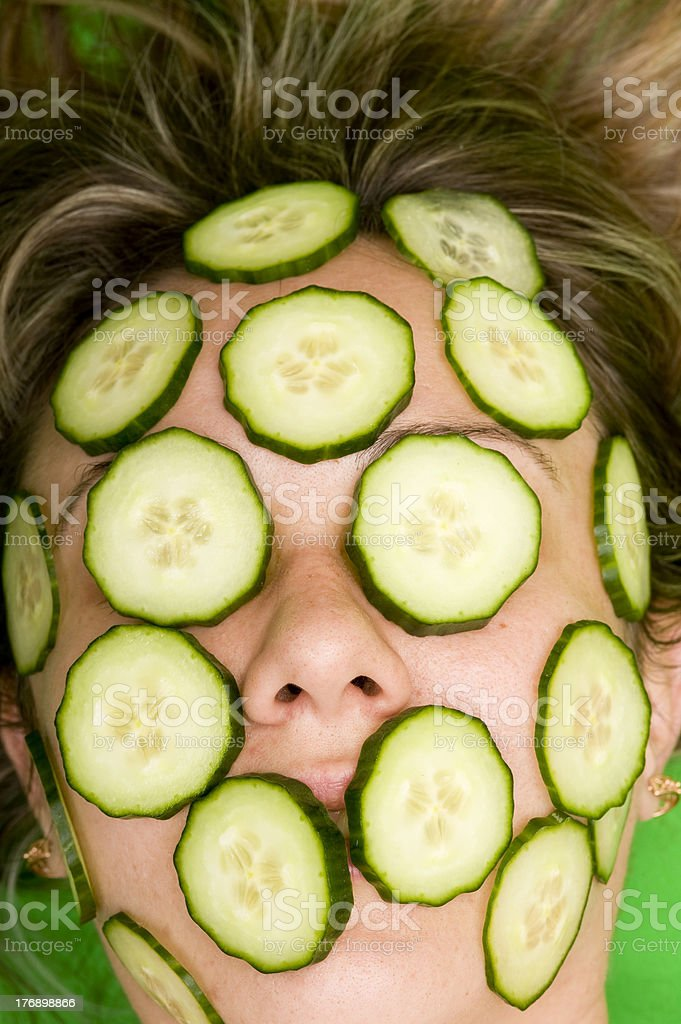 Cosmetics mask stock photo