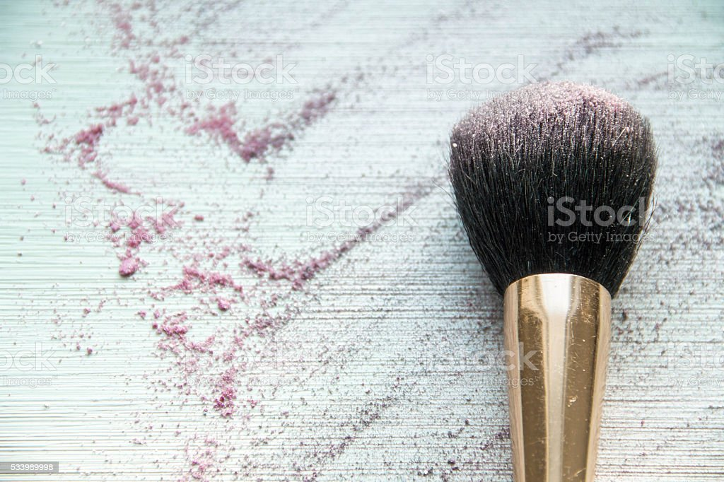Cosmetics  of woman's accessory stock photo