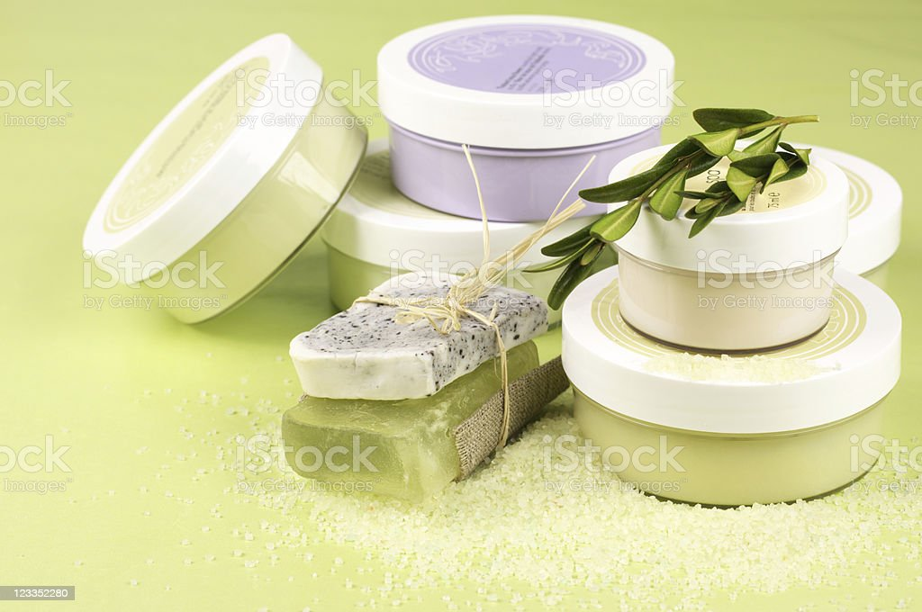 SPA cosmetics royalty-free stock photo