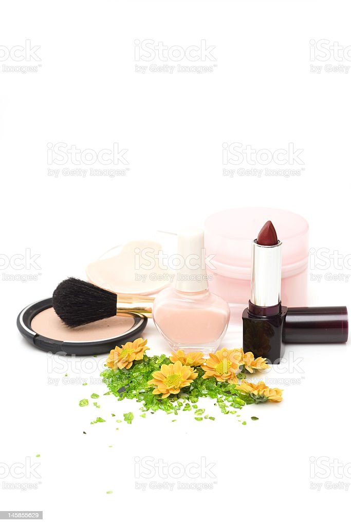 Cosmetics royalty-free stock photo