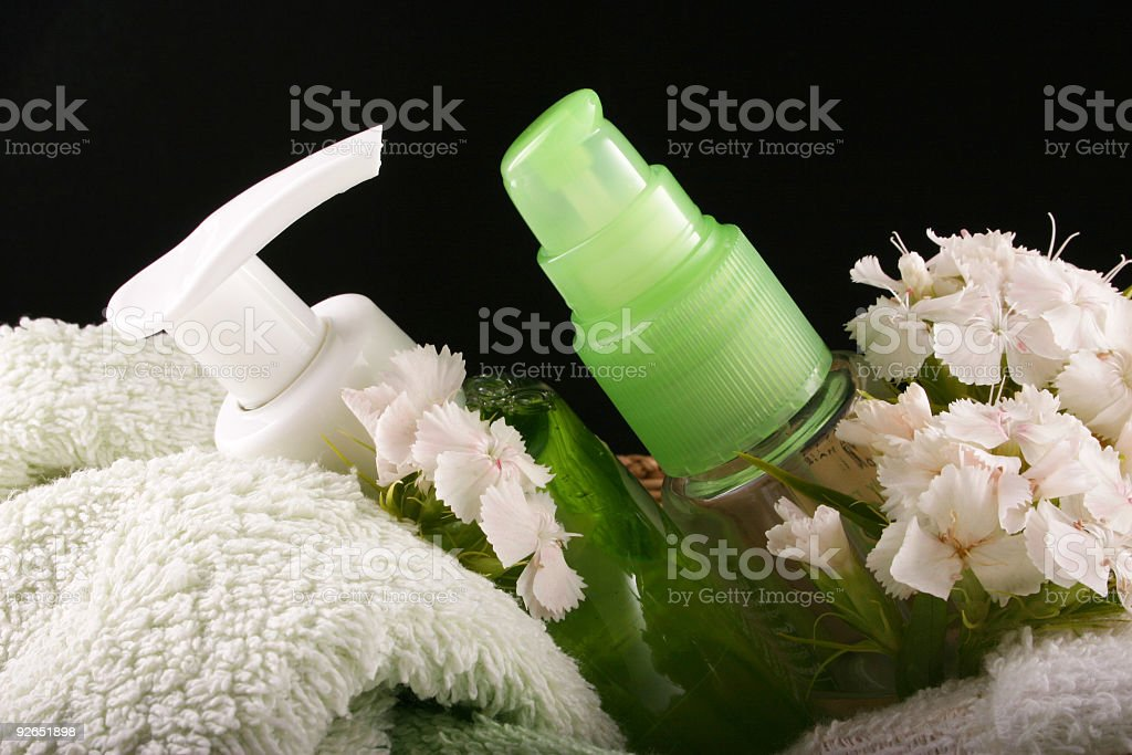 cosmetics stock photo