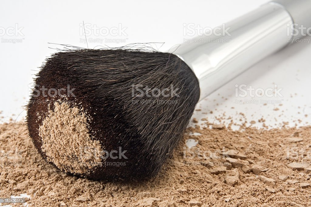 Cosmetics powder royalty-free stock photo