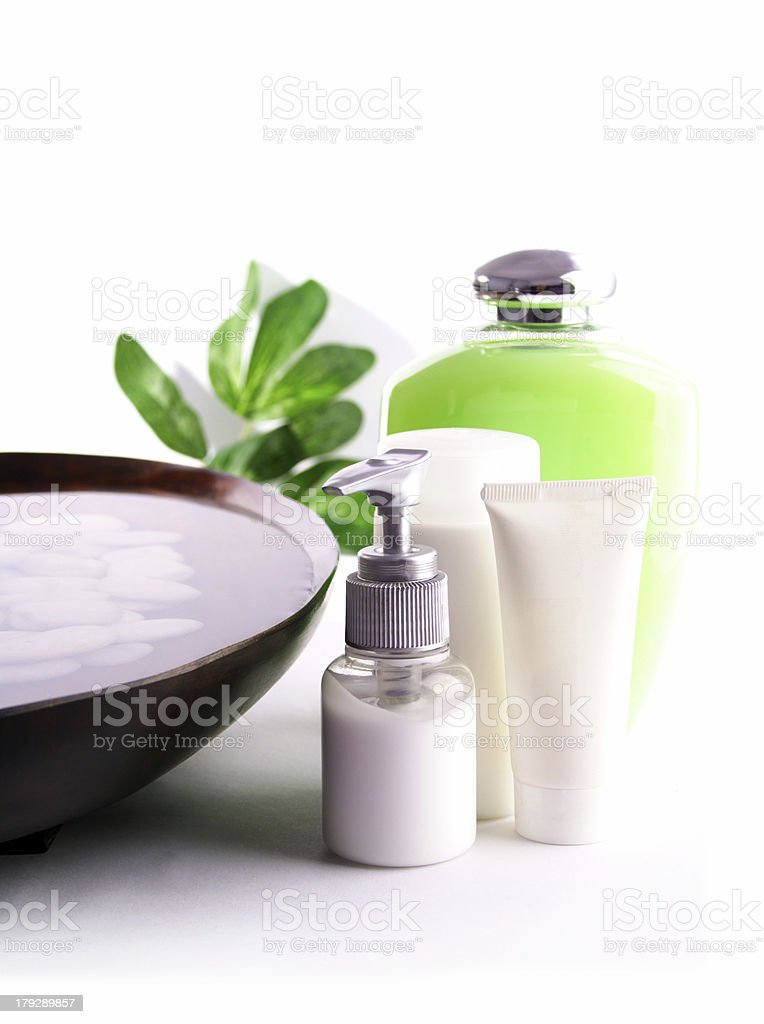 SPA cosmetics series stock photo
