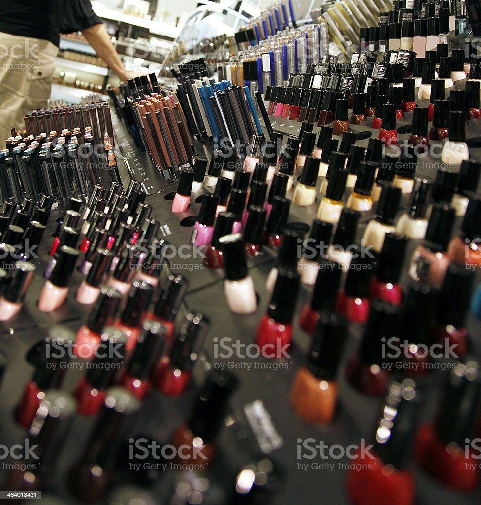 Cosmetics Shopping royalty-free stock photo