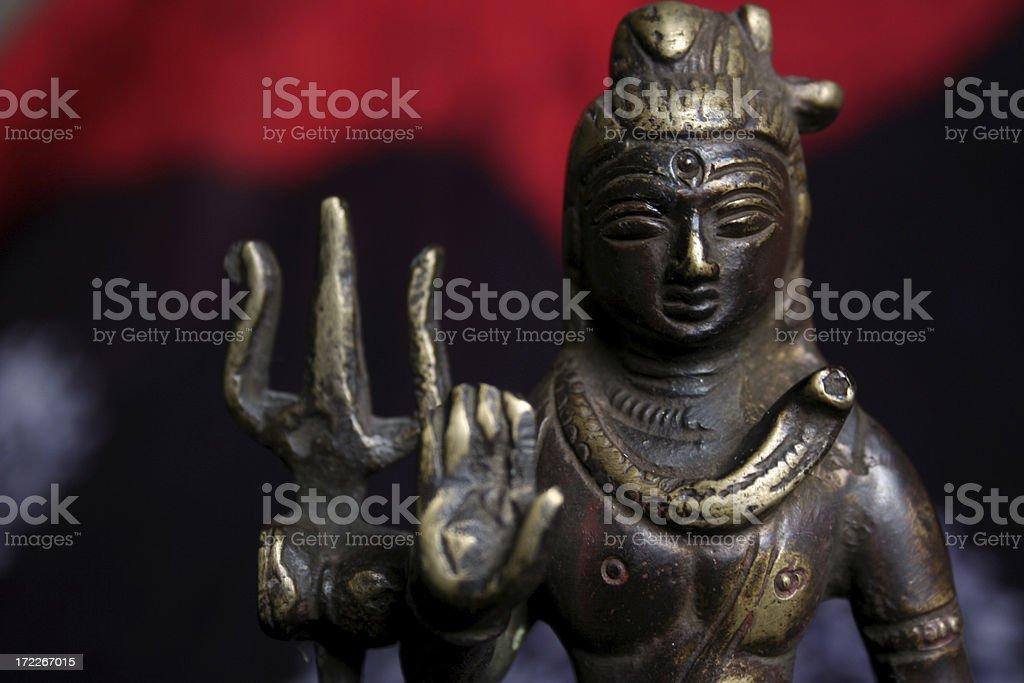 Cosmic Shiva royalty-free stock photo