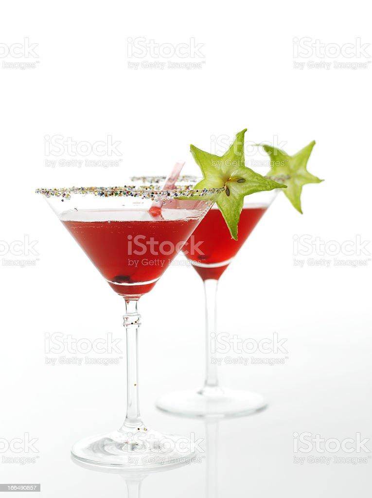 Cosmopolitan cocktail drink royalty-free stock photo