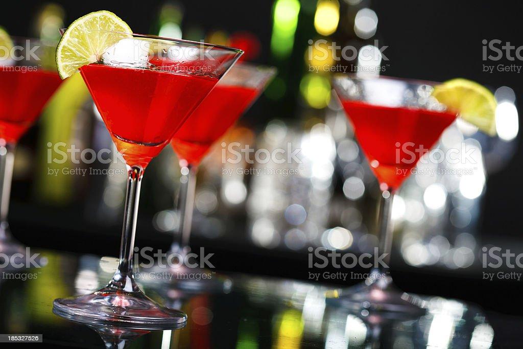 Cosmopolitan cocktail royalty-free stock photo