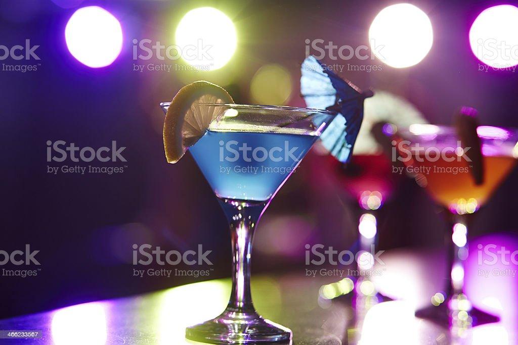 Cosmopolitan cocktail stock photo