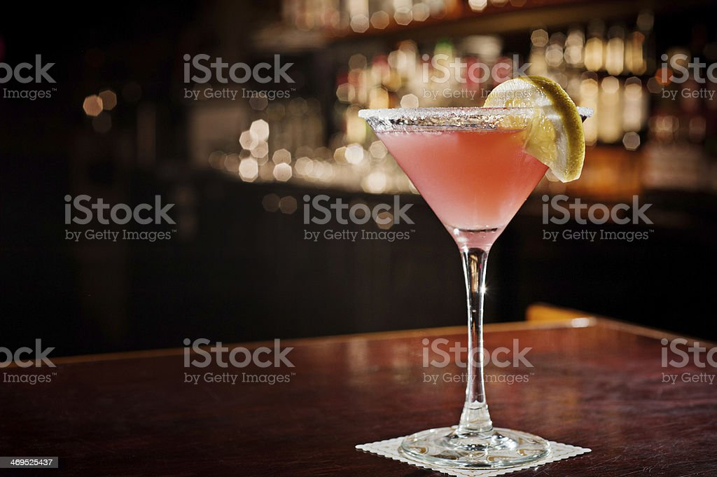 Cosmopolitan Martini stock photo