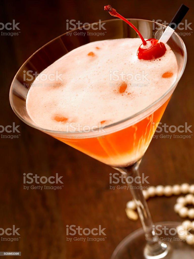 Cosmopolitan Martini stock photo