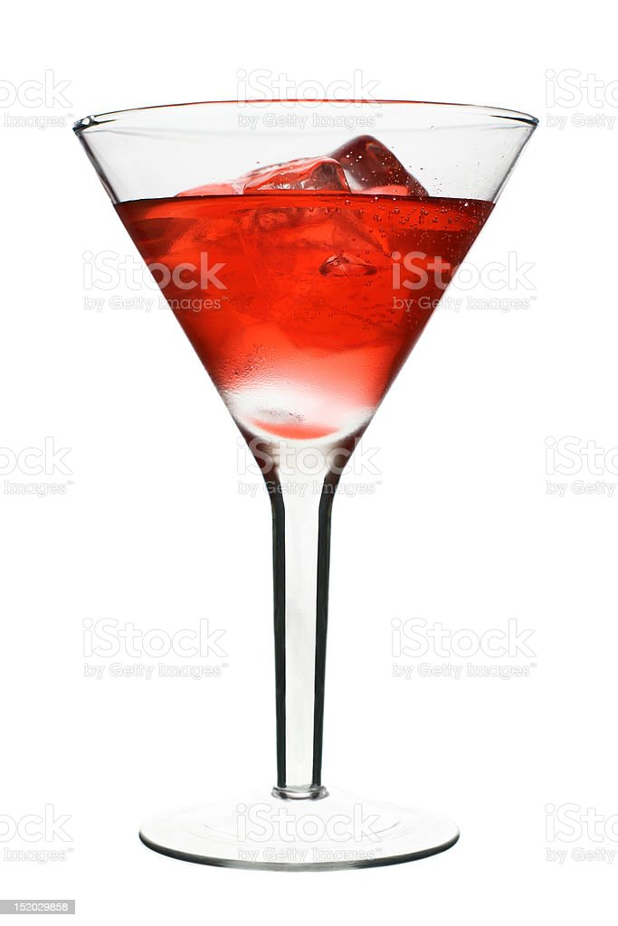 Cosmopolitan - Red Alcoholic Cocktail stock photo