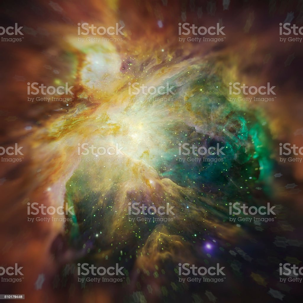 Cosmos space stars nebula. Elements of image furnished by NASA. stock photo