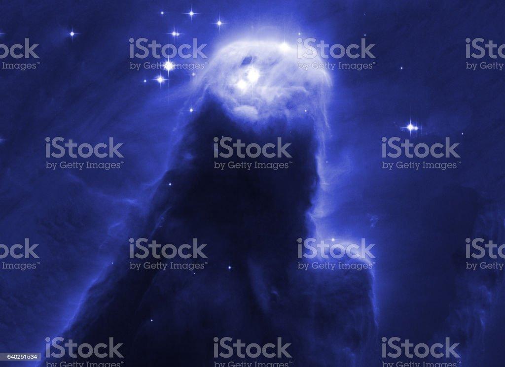 Cosmos space stars nebula. Elements of image furnished by NASA. stock photo