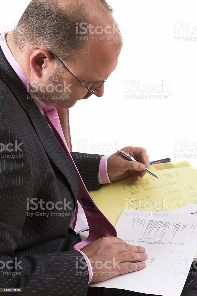 Cost analysis royalty-free stock photo
