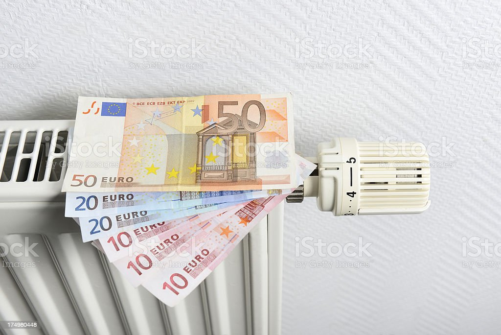 cost of energy royalty-free stock photo