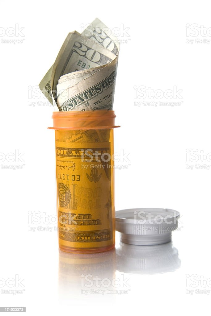 Cost of Healthcare royalty-free stock photo